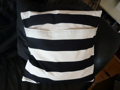 couture, housse, coussin